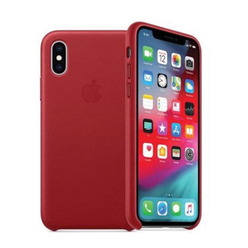 iPhone XR coque cuir